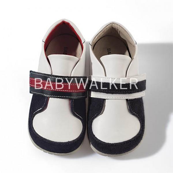 Sneakers με μονή φαρδιά μπαρέτα velcro