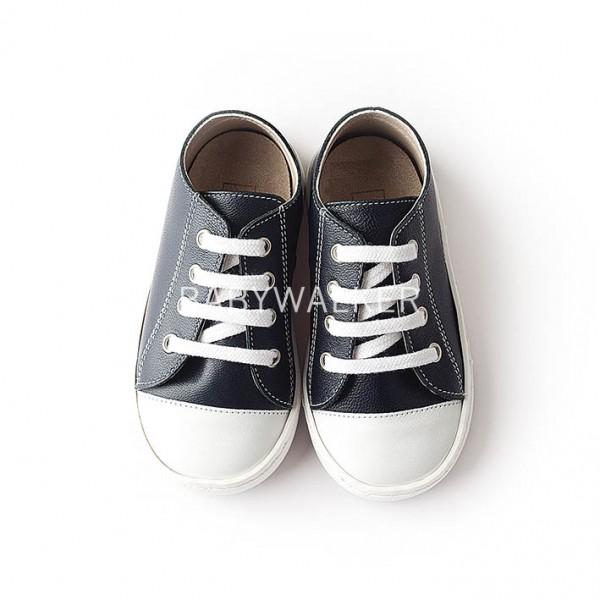 Δερμάτινα δετά sneakers