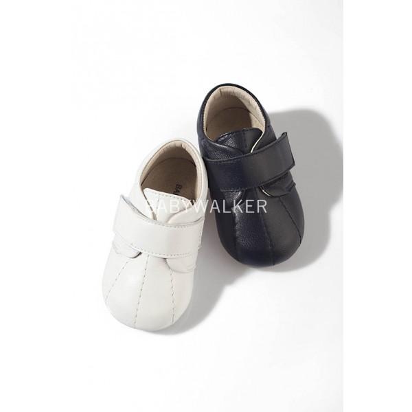 Δερμάτινο sneaker μονή μπαρέτα velcro